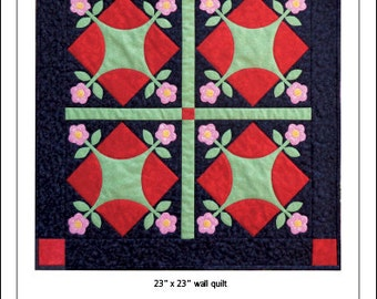 Spice Pinks Wall Quilt Pattern
