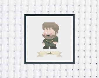 Hodor - Game of Thrones - Cross Stitch Pattern - Instant Download