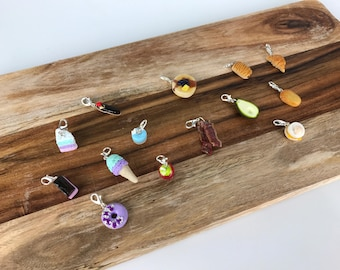 Handcrafted Miniature Food Charms