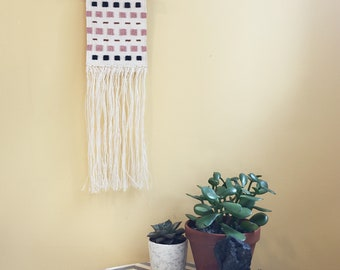 Through the Grid: Handwoven Tapestry