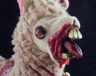 Creepy Cute Plush Zombie Llama Alpaca