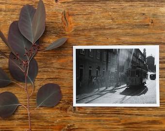 Porto postcard  #1 - film photography - black and white