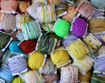 Frankensocks Kit - Hand Dyed Sock Yarn - 20 5 gram Mini Skeins