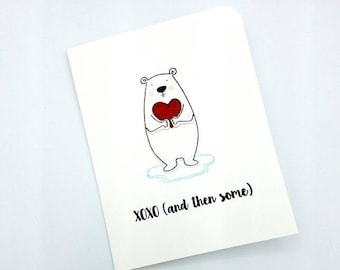 Love Card/I Love You/Thinking of You/Love/Hugs and Kisses/Card for Him/Just Because Card/Miss You/Anniversary Card/Heart