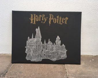 Harry Potter logo and castle