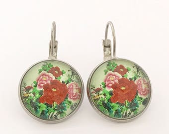 Cherry Blossom, Blossom Earrings, Sakura Earrings, Flower Earrings, Sakura Jewelry, Sakura Jewellery, Blossom Jewelry, Blossom Jewellery