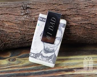 Custom Engraved Brass Money Clip