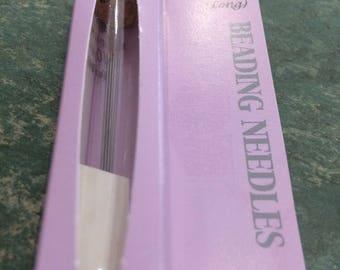 Tulip Beading Needles size 10, 4 pieces