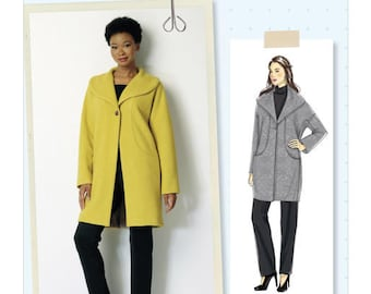 Coat by B6423 Butterick sewing pattern