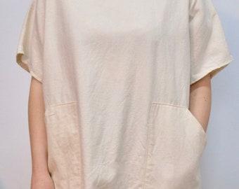 Natural Cotton Tunic (heavyweight fabric)