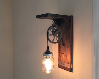 bathroom light pulley pulley sconce etsy 10861 | il 340x270.1433941655 joxz