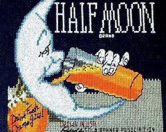 Half Moon Brand Oranges--LB03202