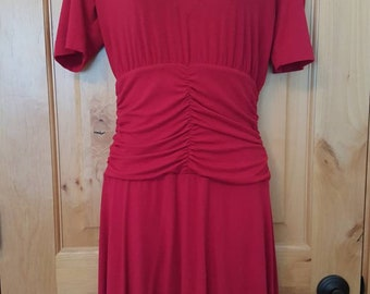 Cherry Red Dress by The Limited, Size Sm.