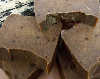 Tea Tree and Turmeric Hand-Made Soap Made With Pure Essential Oils