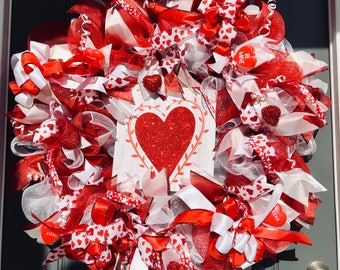 """Beautiful Valentines Day Wreath Large 36"""" x 36"""" inches"""