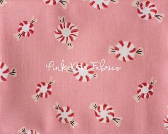 Sugarplum - Peppermint in Pink - Heather Ross for Windham Fabrics - 50167-6 - 1/2 Yard