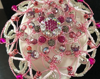 Pretty in pink Kippah