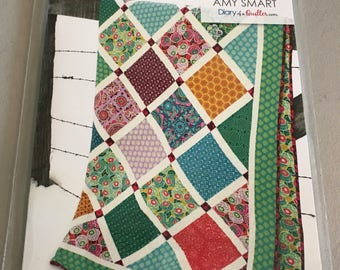 Lattice Quilt Pattern by Amy Smart of Diary of a Quilter for Riley Blake Designs -4 Sizing Options (Throw-King)