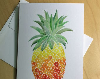 Pineapple Cards - set of 8 cards