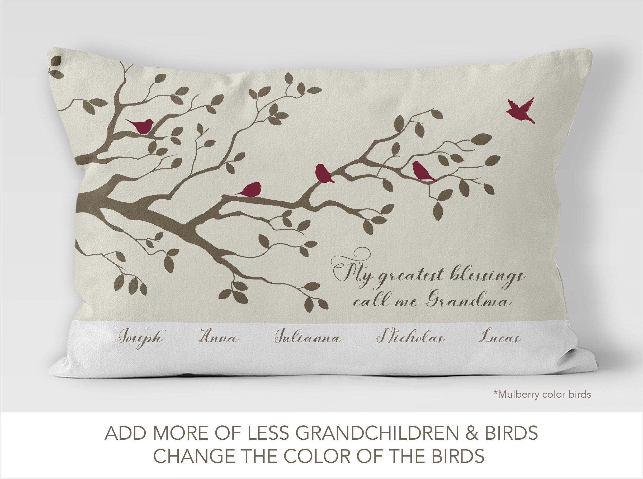 grandchildren zoom call me pillow grandma il personalized listing pillows fullxfull