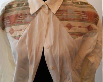 On Sale Now Vintage western blouse