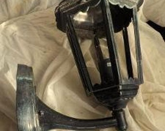 Lantern from Italy signed Terrace garden interior house hunting lodge outdoor garden Patina Forge work from collection