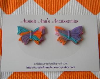 Beautiful Butterfly Stud Earrings