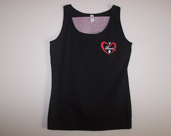 Heart of Love for Animals - Ladies Tank Top - Size M