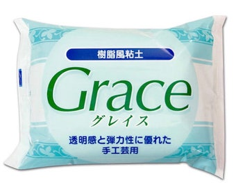 Nisshin Grace Clay Japan 200g from Japan - Fake sweets / bag accessories / Jewelry and Flowers / Air Dry Clay