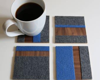 Stripe Coasters