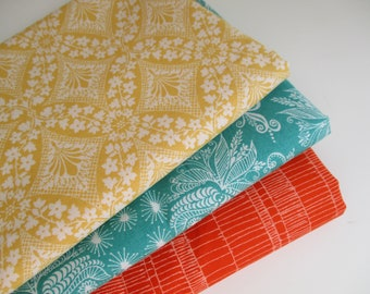SALE - Quilting Fabric Bundle - Fabric by the Yard -  1/2 Yard Fabric Bundle - Total 1.5 Yards - Cotton Fabric - Designer Fabric