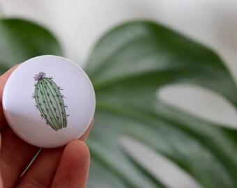 Cactus Pin Badge