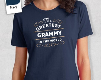 Greatest Grammy, Grammy Gift, Grammy T-shirt, World's Greatest Grammy Shirt, Gift For Grammy, Grammy T-Shirt