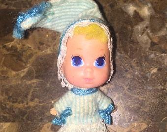 Vintage 1969 Nappytime Little Baby Kiddle