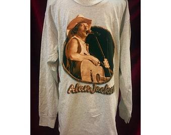 Vintage Never Worn Alan Jackson Tshirt