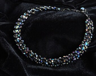 Simply Dazzling in Jet Necklace