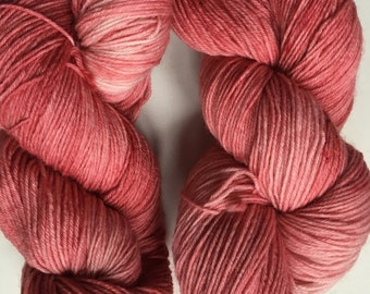 "Seren sock in ""coral"" colourway"