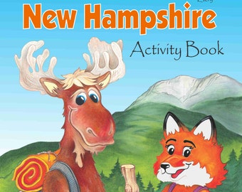 The Wicked Good New Hampshire Activity Book