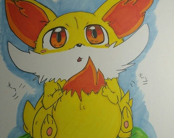 Pokemon Fenniken drawing
