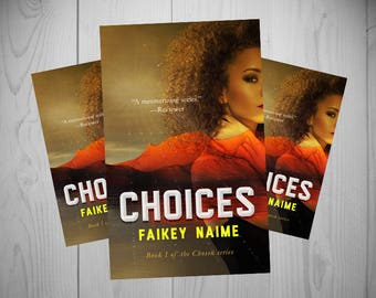 """Pre-Made eBook Cover """"Choices"""" (Desert/African American Woman/Sci-Fi)"""