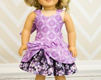 Poppy's Peekaboo Dress for Dolls PDF Pattern