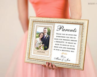 Mother Of The Groom Gift, Parents Of The Groom Gift, Father Of The Groom Gift, Mother In Law Gift, Thank You For Raising The Man (gp1)