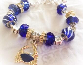 Nautical bracelet, Beach Bracelet, Birthday gift, nautical jewelry, beach jewelry,  bracelet, beach jewelry,