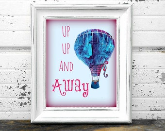 Hot Air Ballon Printable