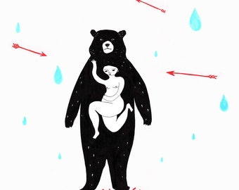Bear Print Protector