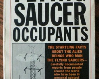vintage paperback ...  FLYING SAUCERS OCCUPANTS by Coral and Jim Lorenzen ...