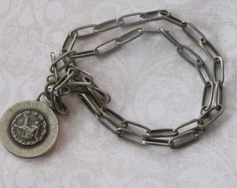 Vintage Virgo Pendant Necklace by Sarah Coventry
