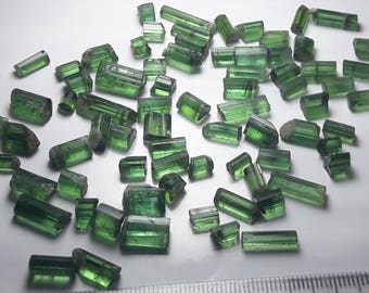 Green tourmaline lot , raw tourmaline lot , rough tourmaline , tourmaline 150 carats