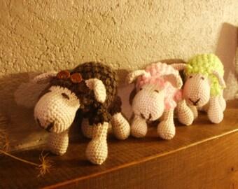 little sheep wool blanket