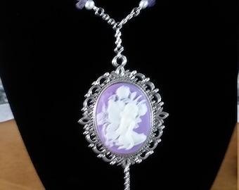 Lavender Fairy Cameo